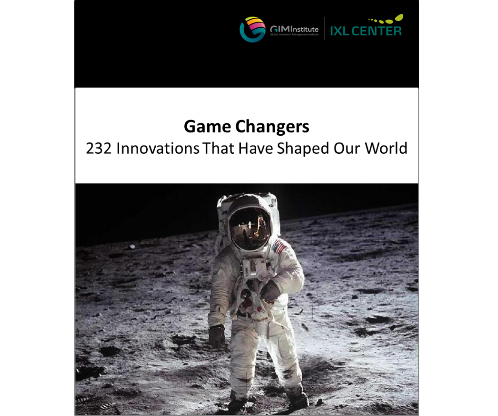 GAME CHANGERS. 232 INNOVATIONS THAT HAVE SHAPED OUR WORLD
